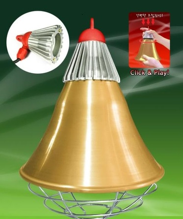 Interheat Lamp Protector, Complete with 250watt Lamp, $105